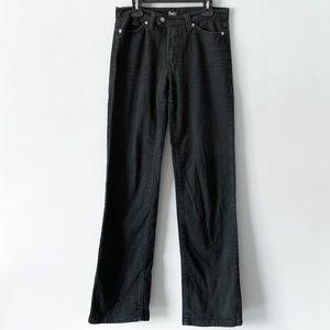 Vintage Dolce & Gabbana | Black Straight Leg Pants